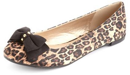 Charlotte Russe Satin Double Bow Ballet Flat