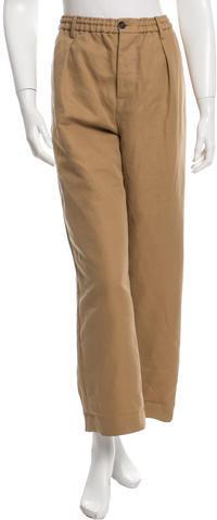 MarniMarni Cropped Wide-Leg Pants w/ Tags
