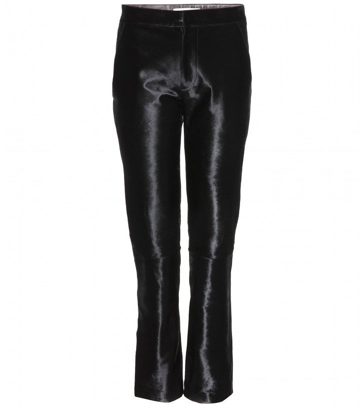 Jil Sander Pablo calf hair trousers