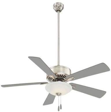 Minka Aire Minka-Aire Contractor 52-Inch LED Single-Light Ceiling Fan in Polished Nickel