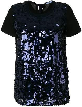 Blumarine paillettes embellished blouse