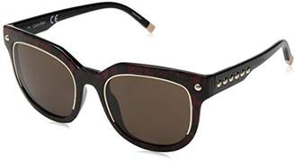 Calvin Klein Women's Ck3202ss Snake Pattern Square Sunglasses