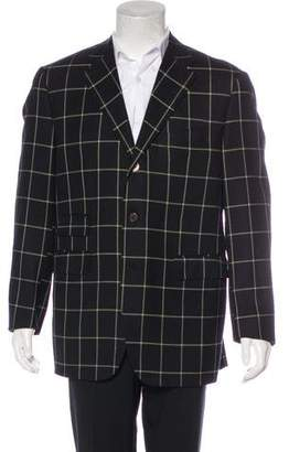 Dunhill Wool Windowpane Blazer