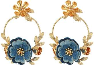 Kate Spade Flower Child Door Knocker Earrings Earring