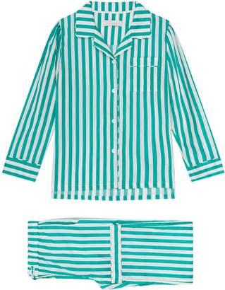Yolke Candy Stripe Pyjama Set