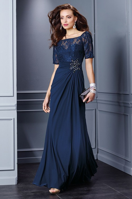 Alyce Paris Mother of the Bride - 29755 Dress in Navy $180 thestylecure.com