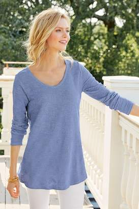 Soft Surroundings Textured Flora Tunic