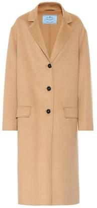 Prada Angora and wool coat
