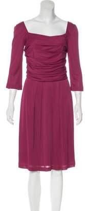 Alberta Ferretti Knee-Length A-Line Dress