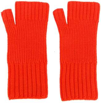 Ami Alexandre Mattiussi Fisherman's Rib Fingerless Gloves