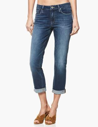 Paige High Rise Jimmy Jimmy Crop - Marmont