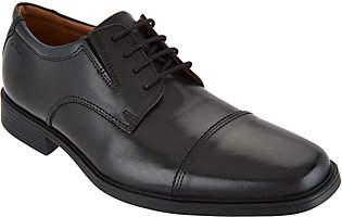Clarks Men's Leather Lace-up Dress Shoes -Tilden Cap