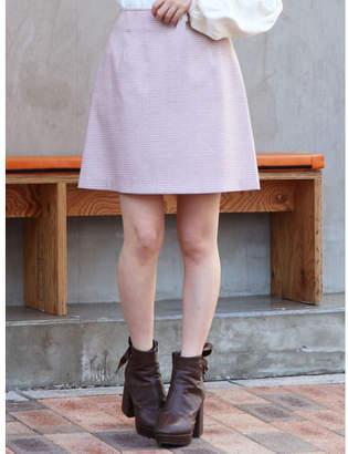 dazzlin (ダズリン) - dazzlin ギンガムチェックミニ台形スカート