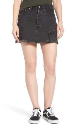 Levi's Deconstructed Denim Skirt (Gimme Danger)