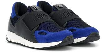 Versace touch strap sneakers