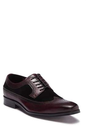 Tallia Sergio Contrast Leather Wingtip Oxford