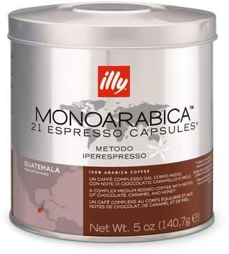 Illy MonoArabica Espresso Capsules, Guatemalan
