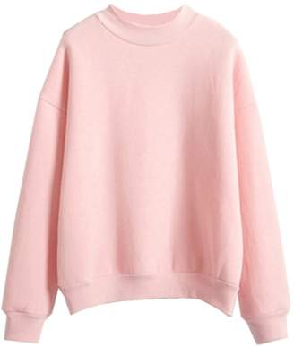 Harajuku Lovers Fashiononly Solid Candy Pullover Sweatshirts Cute Pastel Hoodie Cool Teens Shirt