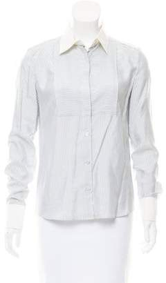 Viktor & Rolf Silk Button-Up Top