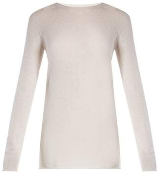 The Row Nolita Round Neck Sweater - Womens - Ivory