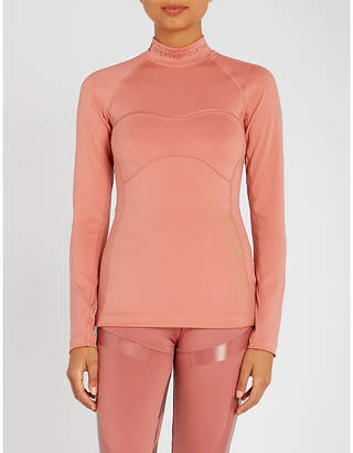 adidas by Stella McCartney Training Outdoor stretch-jersey top
