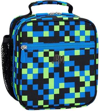 Pottery Barn Teen Gear-Up Neon Pixel Classic Lunch Bag