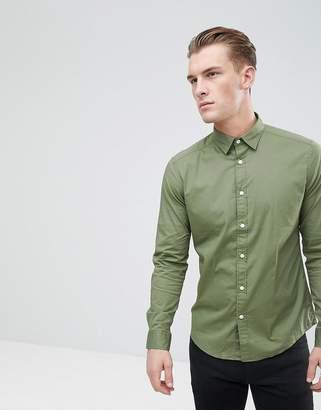 Esprit Slim Fit Cotton Poplin Shirt