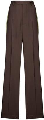 Rick Owens wide leg tailored trousers