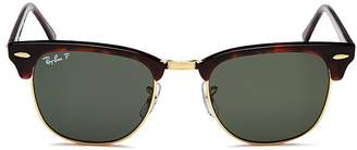 Ray-Ban Clubmaster Polarized Sunglasses, 51mm
