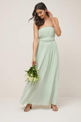 Next Womens Mint Multiway Bridesmaid Dress - Green