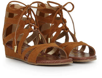 Sam Edelman Girls Danica Lace-Up Sandal