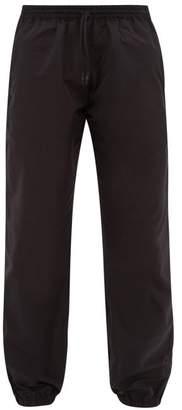 Wardrobe.Nyc Wardrobe.nyc - Elasticated Waist Track Pants - Mens - Black