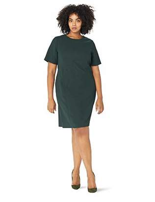 Eliza J Women's Plus Size Solid Shift Dress