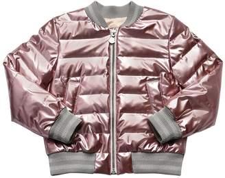 Moncler Garonna Nylon Down Bomber Jacket