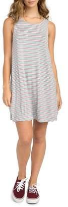 RVCA Lostlane Stripe Swing Dress