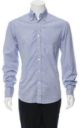 Michael Bastian Jacquard Patchwork Shirt w/ Tags