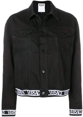 Versus logo denim jacket