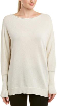 Lafayette 148 New York Bateau Silk-Blend Sweater