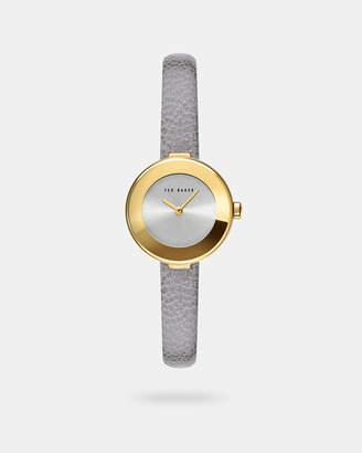 Ted Baker LENARAP Leather strap watch