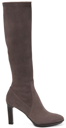 Aquatalia Rhumba Tall Stretch-Suede Boots $750 thestylecure.com