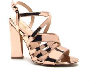 Qupid Womens Lyra-16 Heeled Sandals
