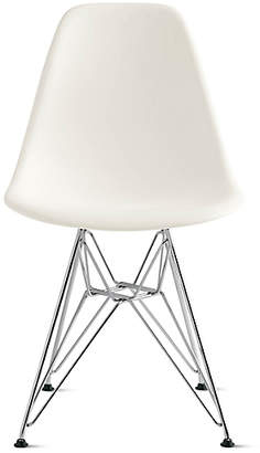 Design Within Reach Herman Miller Eames Molded Plastic Wire-Base Side Chair (DSR) at DWR