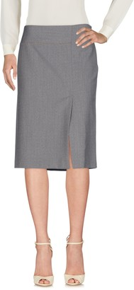 BLUE LES COPAINS Knee length skirts - Item 35353947MW