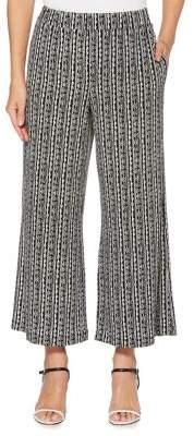 Rafaella Wide Leg Cropped Pants