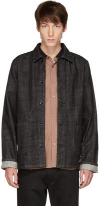 A.P.C. Black Kerlouan Denim Jacket