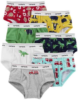 carter s underwear 7 pair briefs preschool boys