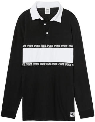 Victoria's Secret Victorias Secret Long Sleeve Rugby Tee