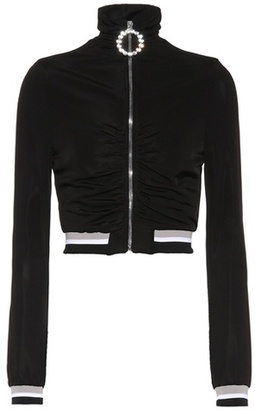 Alessandra Rich Cropped jacket
