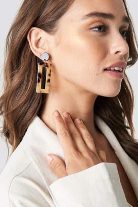 Na Kd Accessories Rectangular Resin Look Earrings