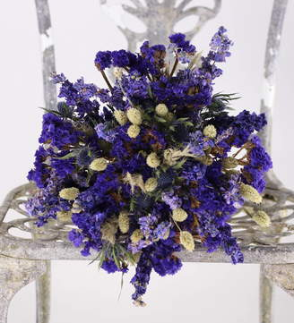 True Blue Cottage in the Hills Dried Flower Posy